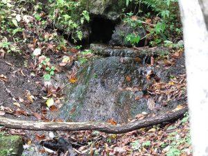 大洞の水場2