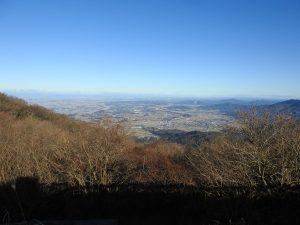 メジロの生息地 筑波山